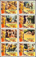 "Movie Posters:Adventure, Cannibal Attack (Columbia, 1954). Lobby Card Set of 8 (11"" X 14"").Adventure.. ... (Total: 8 Items)"