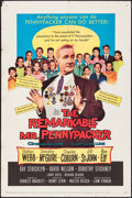 """Movie Posters:Comedy, The Remarkable Mr. Pennypacker & Other Lot (20th Century Fox,1959). Folded, Fine/Very Fine. One Sheets (3) (27"""" X 41..."""