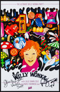 """Movie Posters:Fantasy, Willy Wonka & the Chocolate Factory (Alamo Draft House, R-2014). Autographed Mini Poster (11"""" X 17""""). Fantasy.. ..."""