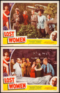 """Movie Posters:Science Fiction, On the Mesa of Lost Women (Howco, 1952). Lobby Cards (2) (11"""" X 14""""). Science Fiction.. ... (Total: 2 Items)"""