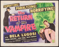"Movie Posters:Horror, The Return of the Vampire (Columbia, 1943). Title Lobby Card (11"" X14""). Horror.. ..."