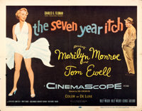 "The Seven Year Itch (20th Century Fox, 1955). Half Sheet (22"" X 28"")"