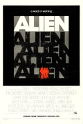 "Movie Posters:Science Fiction, Alien (20th Century Fox, 1979). One Sheet (27"" X 41"") Teaser.. ..."