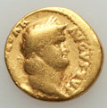 Ancients:Roman Imperial, Ancients: Nero (AD 54-68). AV aureus (6.98 gm). VG, ex jewelry....