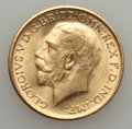 Australia, Australia: George V gold Sovereign 1915-M UNC,...