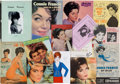 Music Memorabilia:Documents, A Connie Francis Extensive Collection of Paper Ephemera Related toHer Career, 1960s-2000s.... (Total: 3 )