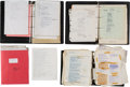 Music Memorabilia:Documents, A Connie Francis Large Collection of Foreign Lyric Sheets and SheetMusic, 1960s-1990s....
