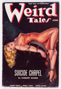 Pulps:Horror, Weird Tales - June 1938 (Popular Fiction) Condition: VG....