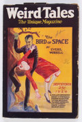 Pulps:Horror, Weird Tales - September 1926 (Popular Fiction) Condition: GD/VG....