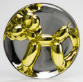 Sculpture, Jeff Koons (b. 1954). Balloon Dog (Yellow), 2015. Metallic porcelain multiple. 10-1/2 inch diameter (26.7 cm). Ed. 1369/...