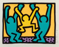 Fine Art - Work on Paper:Print, Keith Haring (1958-1990). Pop Shop I, 1987. Screenprint incolors on wove paper. 10-3/8 x 13-3/8 inches (26.4 x 34.0 cm)...