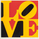 Robert Indiana (b. 1928) German LOVE, 1968 Screenprint in colors on wove paper 22 x 22 inches (55.9 x 55.9 cm) (image