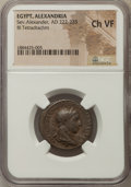 Ancients:Roman Provincial , Ancients: EGYPT. Alexandria. Severus Alexander (AD 222-235). BItetradrachm. NGC Choice VF....