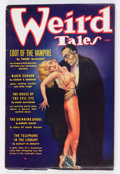 Pulps:Horror, Weird Tales - June 1936 (Popular Fiction) Condition: VG+....