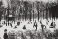 Photographs:Gelatin Silver, Edouard Boubat (French, 1923-1999). Jardin du Luxembourg,1955. Gelatin silver, printed later. 9-3/8 x 14 inches (23.8 x...