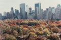 Photographs, Ruth Orkin (American, 1921-1985). Autumn in Manhattan, 1983. Dye coupler, printed later. 15-1/2 x 23-1/4 inches (39.4 x ...