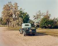 Joel Sternfeld (American, b. 1944) Friends, June 1983 Dye coupler, 1988 13-1/2 x 17 inches (34.3