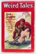 Pulps:Horror, Weird Tales - August 1928 (Popular Fiction) Condition: VG....