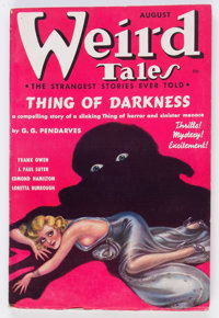 Weird Tales - August 1937 (Popular Fiction) Condition: FN-