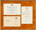 Music Memorabilia:Awards, A Connie Francis Group of 'Presidential' Items, 1960s-2000s.... (Total: 8 Items)