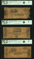 Obsoletes By State:Ohio, Cincinnati, OH - Lot of 3 Commercial Bank of Cincinnati Durand,Perkins & Co. Series Notes Associated with the CincinnatiComm... (Total: 3 notes)