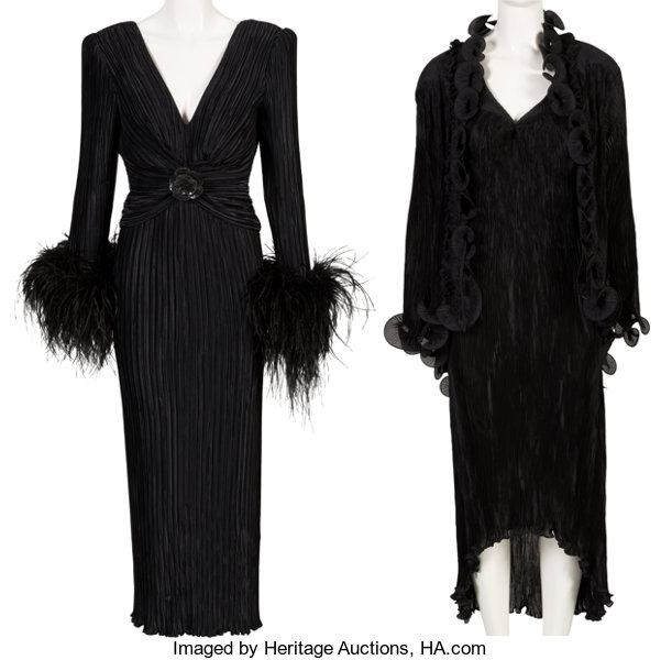 A Connie Francis Pair of Evening Gowns Worn Onstage, | Lot #89147 ...