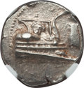 Ancients:Greek, Ancients: LYCIA. Phaselis. 4th century BC. AR stater (10.32 gm).NGC Choice AU 4/5 - 4/5....
