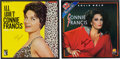 Music Memorabilia:Recordings, A Connie Francis Pair of Signed Albums, Circa 1970s.... (Total: 2 Items)