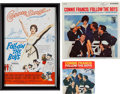 """Music Memorabilia:Recordings, A Connie Francis Group of Signed Items Related to """"Follow TheBoys.""""... (Total: 3 )"""