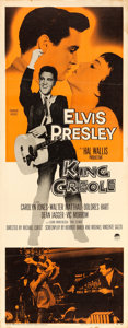 "Movie Posters:Elvis Presley, King Creole (Paramount, 1958). Insert (14"" X 36"").. ..."