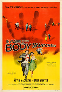 """Invasion of the Body Snatchers (Allied Artists, 1956). One Sheet (27"""" X 41"""")"""