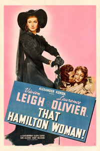 "That Hamilton Woman (United Artists, 1941). One Sheet (27"" X 41"")"