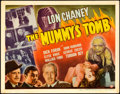 "Movie Posters:Horror, The Mummy's Tomb (Universal, 1942). Title Lobby Card (11"" X 14"")....."