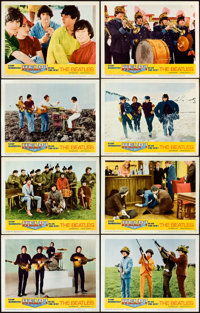 """Help! (United Artists, 1965). Lobby Card Set of 8 (11"""" X 14""""). ... (Total: 8 Items)"""