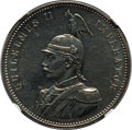 German East Africa, German East Africa: German Colony. Wilhelm II Proof Rupie 1890 PR61NGC,...