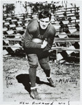 Football Collectibles:Photos, 1960's Johnny Blood McNally Signed Photograph....