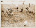 Football Collectibles:Photos, 1936 NFL Championship Game Packers vs. Redskins Original News Photograph, PSA/DNA Type 1....