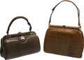 Music Memorabilia:Costumes, A Connie Francis Set of Small Handbags, Circa 1960s.... (Total: 2 )