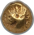 Ancients:Greek, Ancients: IONIA. Uncertain City. Ca. 625-550 BC. EL 24th stater(0.70 gm). NGC VF 4/5 - 4/5....