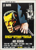 "Movie Posters:Crime, Point Blank (Alpherat, 1968). Italian 2 - Fogli (39.5"" X 55.5"").Crime.. ..."