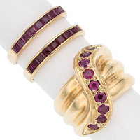 Ruby, Gold Rings