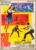 "Movie Posters:Academy Award Winners, West Side Story (United Artists, R-1968). Italian 2 - Fogli (39.25""X 55""). Academy Award Winners.. ..."