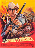 "Movie Posters:Exploitation, Born Losers (Inter France, 1967). French Grande (45.5"" X 62"").Exploitation.. ..."
