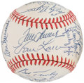 Autographs:Baseballs, Pitching Greats Multi-Signed Baseball....