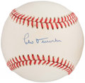 Autographs:Baseballs, Leo Durocher Single Signed Baseball. ...