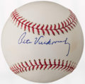 Autographs:Baseballs, Pete Vuckovich Single Signed Baseball. ...