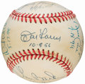 Autographs:Baseballs, Perfect Game Pitchers Multi-Signed Baseball With Koufax & SixOthers....