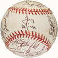 Autographs:Baseballs, 1998 St. Louis Cardinals Team Signed Baseball (24 Signatures)....