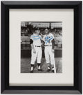 Autographs:Photos, Stan Musial and Mickey Mantle Multi Signed Photograph. ...