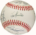 Autographs:Baseballs, 1990 Cincinnati Reds Team Signed Baseball (20 Signatures) - WorldChampionship Season! ...